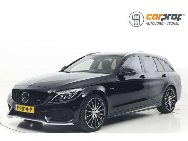 Mercedes-Benz C-klasse Estate 43 AMG 4MATIC Panoramadak Standkachel HUD Burmester Camera Adaptive