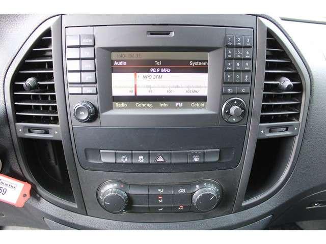 Mercedes-Benz Vito 116 CDI L2 Navigatie, Camera, Achterdeuren, Trekhaak, Cruise control
