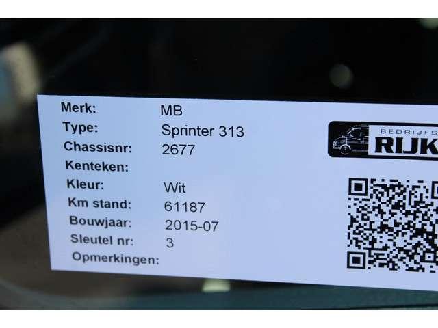 Mercedes-Benz Sprinter 313 CDI L2 366 DC Huifzeil, Airco, 7-Zits