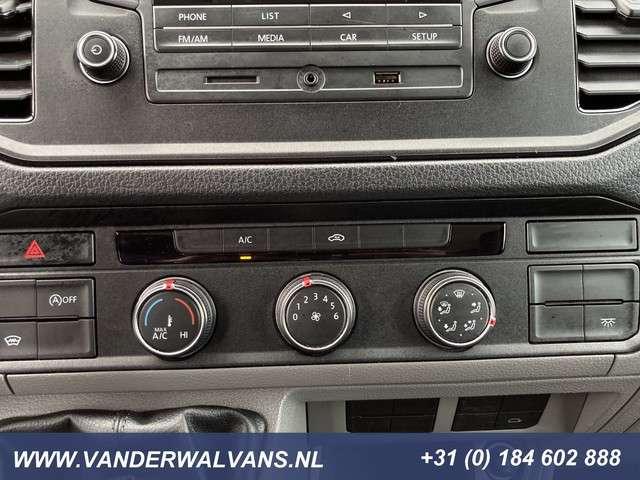 Volkswagen Crafter 35 2.0TDI BAKWAGEN + LAADKLEP 21m3 / 21 kuub Airco, cruisecontrol, 3-zits
