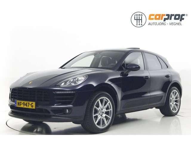 """Porsche Macan 2.0 NL Auto Panoramadak Navigatie Leder 20"""" LM Velgen Dealer onderhouden 1e Eigenaar"""
