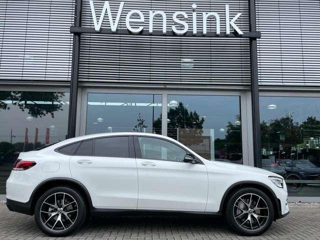 Mercedes-Benz GLC Coupé 200 4MATIC AMG Schuif- kanteldak | Nightpakket | 20'' Inch | 360 camera | Keyless entry | Memorypakket | Stoelverwarming