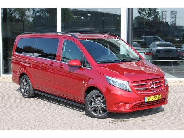 Mercedes-Benz Vito 114 CDI 136 PK L2 DUBBEL CABINE | AUTOMAAT, LAGE BIJTELLING, NAVIGATIE, CRUISE CONTROL, LEDEREN BEKLEDING | CERTIFIED 24 MAANDEN GARANTIE!