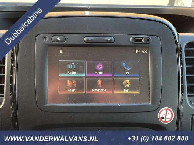 Opel Vivaro 1.6 CDTI 116pk L2H1 Dubbele Cabine Sport Airco, navigatie, sidebars, parkeersensoren, 6-zits, trekhaak