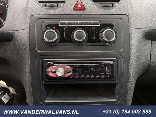 Volkswagen Caddy 1.6TDI *imperiaal* Airco, cruisecontrol, trekhaak