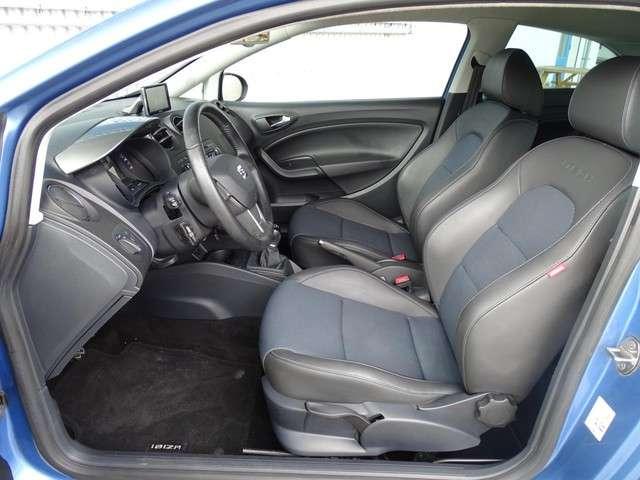 "Seat Ibiza 1.2 TSI Itech Xenon/LED! Navi! Half Leer! Cruise! 16""Inch! Getint Glas! 1ste Eigenaar!"