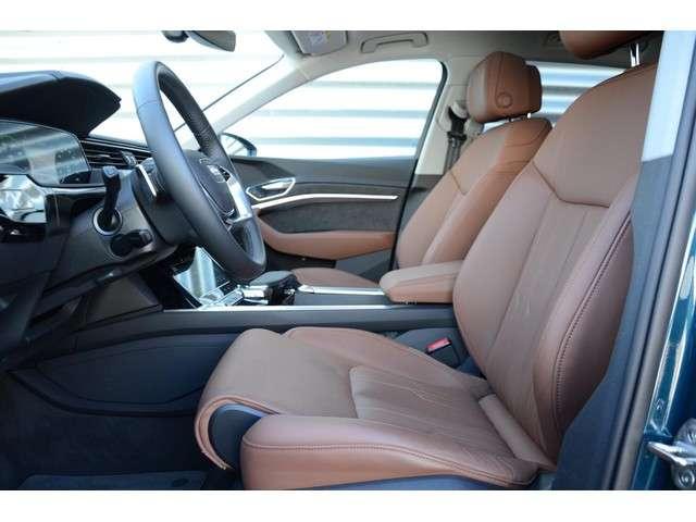 "Audi E-tron e-tron 55 quattro advanced Panoramadak Trekhaak Cognac leder Virtual Cockpit 21"" Camera"