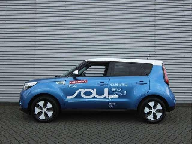 Kia e-Soul EV EXECUTIVELINE Automaat | Nu met €2000,- subsidie | Clima | Navi | Camera | Accu garantie t/m 16-09-2023