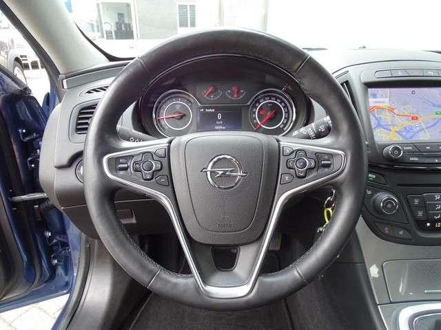 Opel Insignia 1.4 T Business+ Zwart Leer! Navi! Stuur+Stoelverw! Parkeersensor! Trekhaak!
