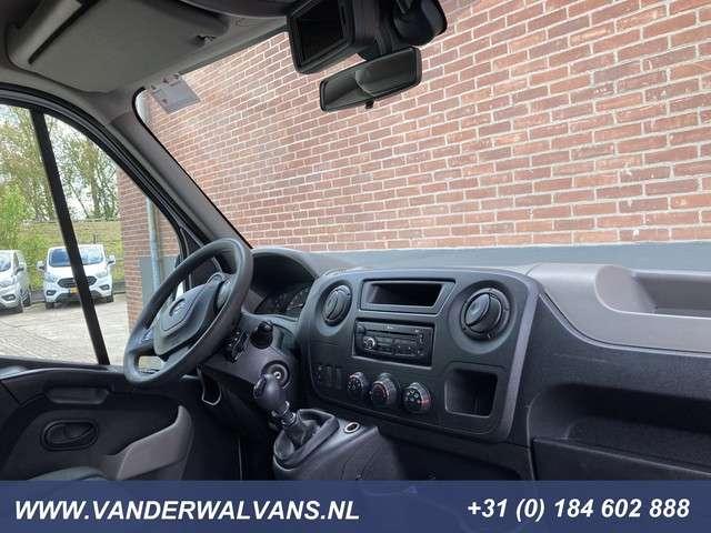 Opel Movano 2.3CDTI 150pk Bakwagen + Laadklep Airco, 3-zits, Cruisecontrol 425x211x220